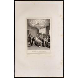 1853 - Mort de la sainte...