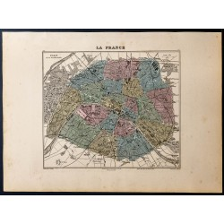1889 - Plan de Paris