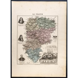 1889 - Département de l'Aisne