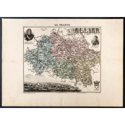 1889 - Département de l'Allier
