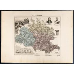1889 - Département de l'Ariège