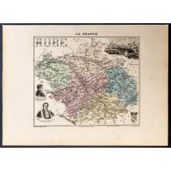 1889 - Département de l'Aube