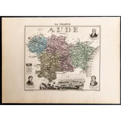 1889 - Département de l'Aude