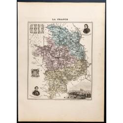 1889 - Département du Cher