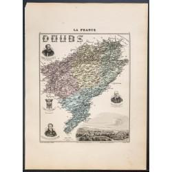 1889 - Département du Doubs
