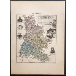 1889 - Département de la Drôme