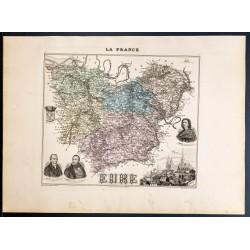 1889 - Département de l'Eure