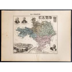 1889 - Département du Gard