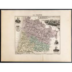 1889 - Département des Landes