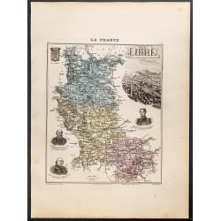 1889 - Département de la Loire