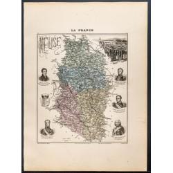 1889 - Département de la Meuse