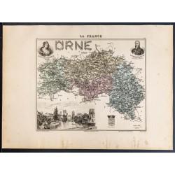1889 - Département de l'Orne