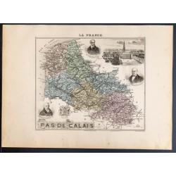 1889 - Département du Pas...