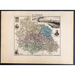 1889 - Département du Puy...