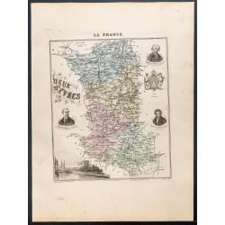 1889 - Département des Deux...