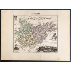 1889 - Département de...