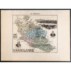 1889 - Département du Vaucluse
