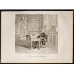 1841 - Portrait de Louis XVIII