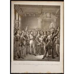 1841 - Proclamation de...