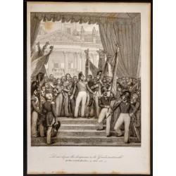 1841 - Le roi donne les...