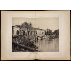 1882 - Usine à eau de...