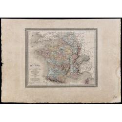 1827 - Carte comparative de...
