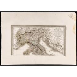 1827 - Carte de l'Italie