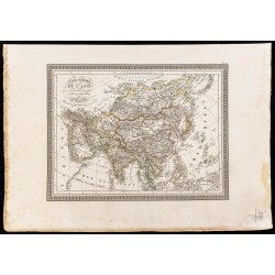 1827 - Carte de l'Asie