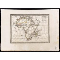 1827 - Carte de l'Afrique