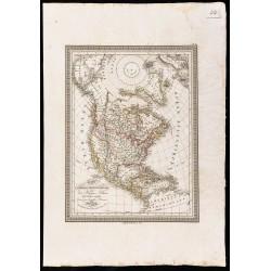 1827 - Amérique du nord