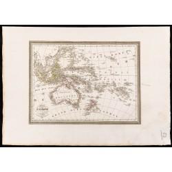 1827 - Carte de l'Océanie...