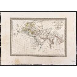 1827 - Monde connu par les...