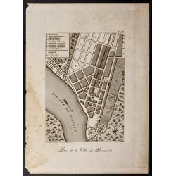 1798 - Plan de la ville de...