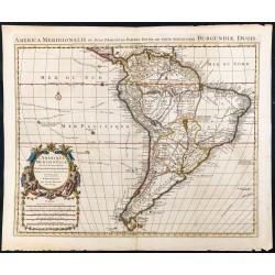 1730ca - Amérique méridionale