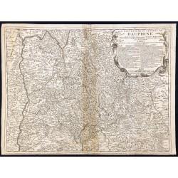 1690ca - Carte du Dauphiné