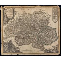 1780ca - Carte de la Suisse