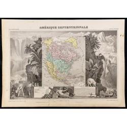 1845ca - Amérique du Nord
