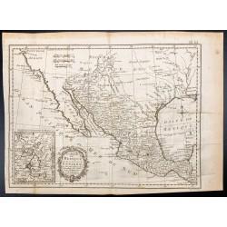 1778 - Carte du Mexique