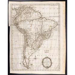 1778 - Carte de l'Amérique...