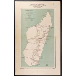 1891 - Carte de Madagascar