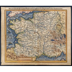 1575ca - Carte de la France