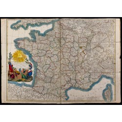 1794 - Carte routière de la...