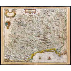 1650ca - Carte du Languedoc