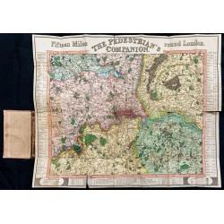 1822 - Plan de Londres et...