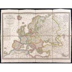 1854 - Carte routière de...