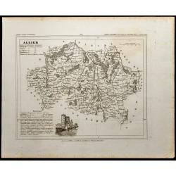 1833 - Département de l'Allier