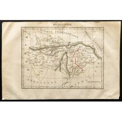 1843 - Carte de l'Afghanistan
