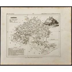 1833 - Département de l'Ariège