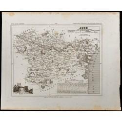 1833 - Département de l'Aude