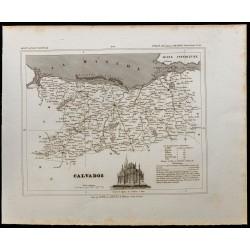 1833 - Département du Calvados